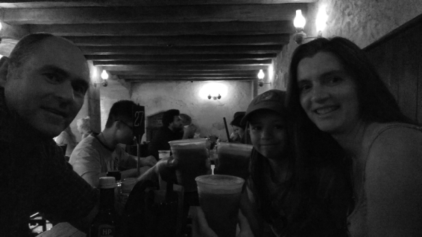 three-people-with-drinks-in-bar-butter-beer